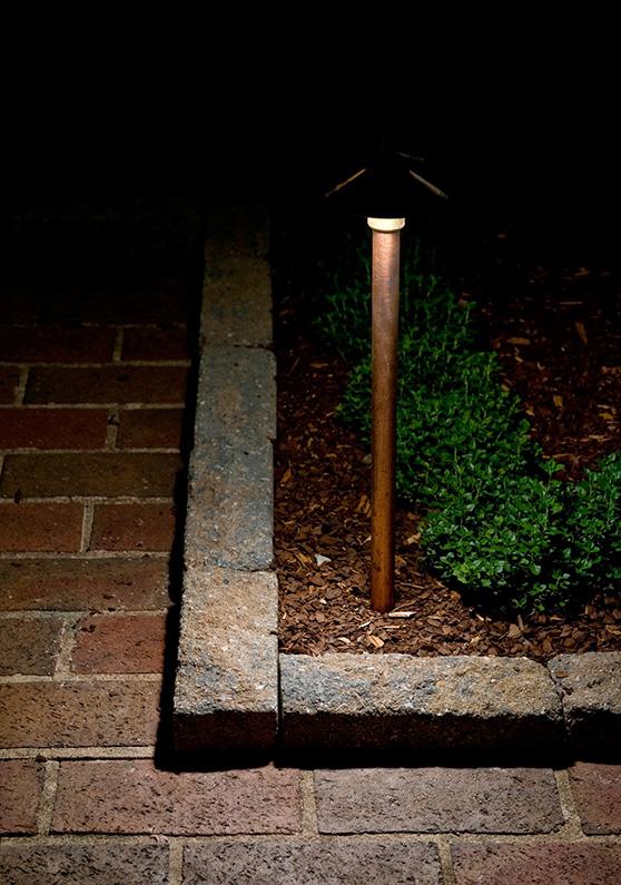 small outdoor light
